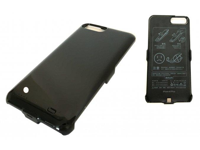 7593 nabijeci kryt powerbanka 10000mah pro iphone 6 plus 7 plus cerna