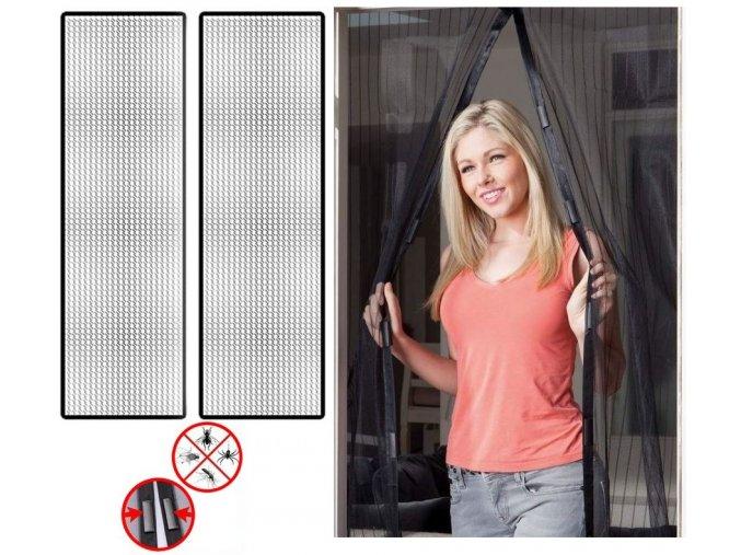 7917 3 samozaviraci magneticka sitka 210 x 100 cm
