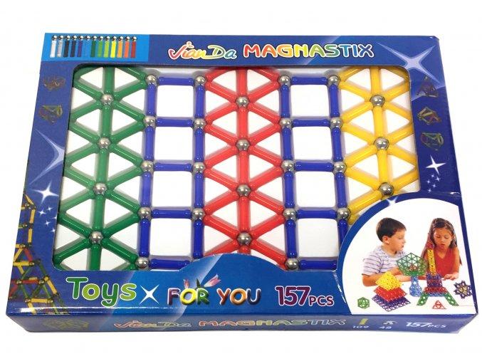 7974 magneticka stavebnice magnastix 157 dilu