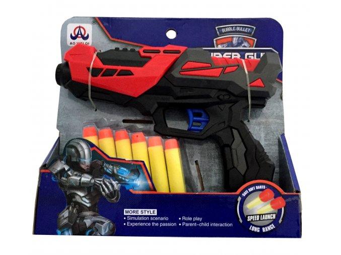 8091 detska pistole na penove naboje 6 ks