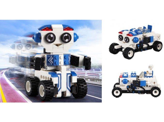8303 7 robot bobby 2v1 stavebnice 195 dilu