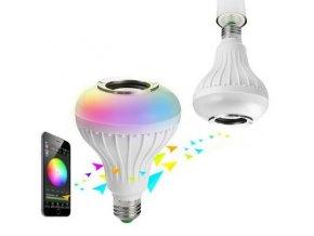Bluetooth žárovka s reproduktorem E27