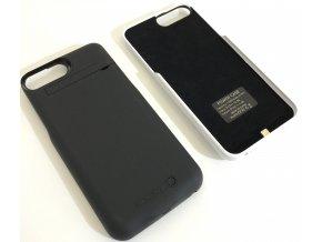 Nabíjecí pouzdro / kryt na iPhone 6 Plus, 7 Plus - Černá