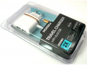 Nabíjecí sada se dvěma USB vstupy 3v1