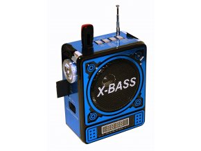 Mini Box X Bass Musikbox Akku Portable Lautsprecher MP3 57