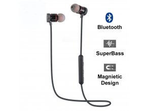 Sportovní bezdrátová sluchátka SH s bluetooth