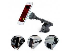 Univerzální magnetický, polohovací držák na mobil nejen do auta