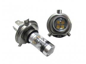 Sada 2 LED žárovek H4, AUTO HD , napájení 12V, světelný tok 800Lm LED H4 DOUBLE PACK