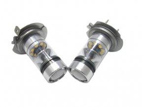 Set 2 LED autožárovek H7, AUTO HD, napájení 12V, světelný tok,800Lm  LED H7 DOUBLE PACK
