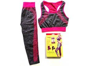 Fitness, Yoga sada legíny + sportovní podprsenka universal