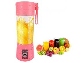 7296 3 prenosny mixer lahev 380 ml s usb napajenim