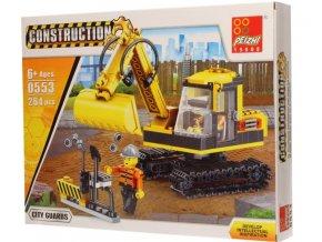 10267 1 bagr construction 264 dilku stavebnice