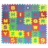 Pěnové puzzle pro děti s vyjímatelnými čísly a písmeny 36 dílů