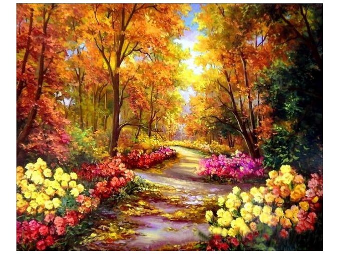 2019 09 29 11 24 10 BAISITE DIY Framed Oil Painting By Numbers Landscape Pictures Canvas Painting Fo