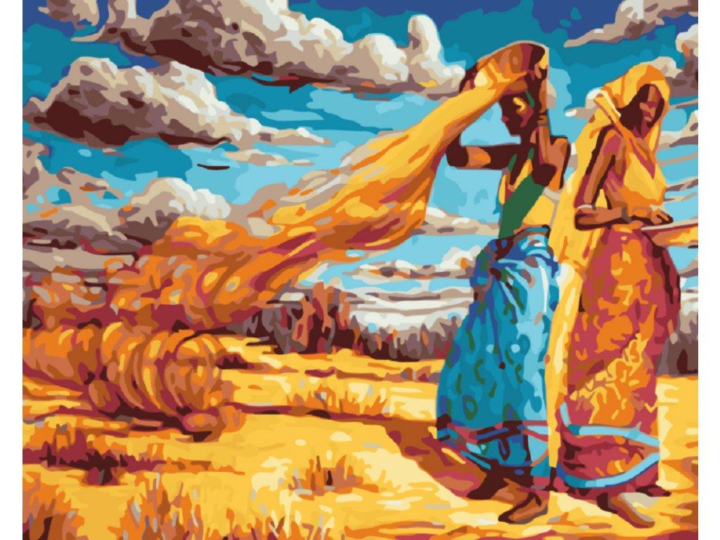 Malování podle čísel - AFRICKÉ ŽENY