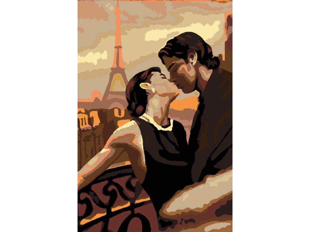 Malování podle čísel - POLIBEK V PAŘÍŽI