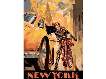 Malování podle čísel - NEW YORK