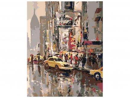 Malování podle čísel - AMERICKÉ TAXI