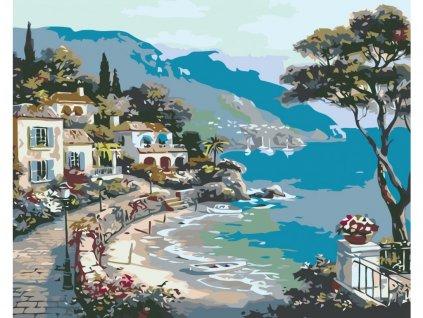 10617 2 malovani podle cisel prochazka kolem more
