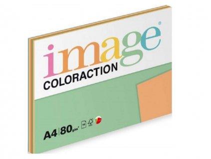 Papír kancelářský mix intensivních barev 5x20ls A4 80g