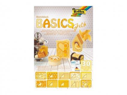 Guma A4 mechová žlutá 10 ks / žluté odstíny