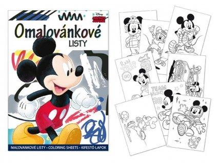 Omalovánky Mickey A4