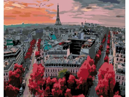 Malování podle čísel - PAŘÍŽ