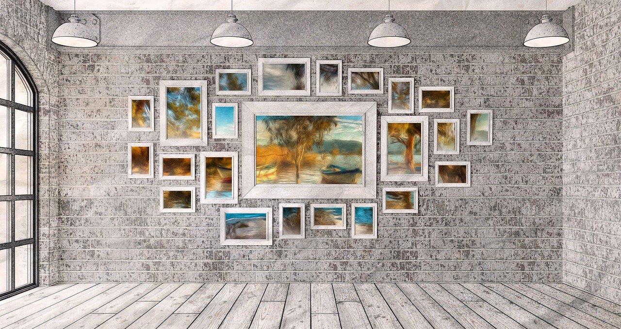 Věšíte obrazy na zeď? Každý pokoj si zaslouží svůj specifický motiv