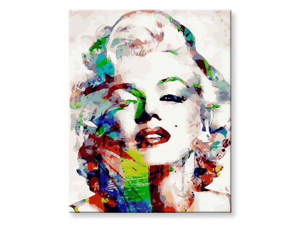 Marilyn Monroe v barvách