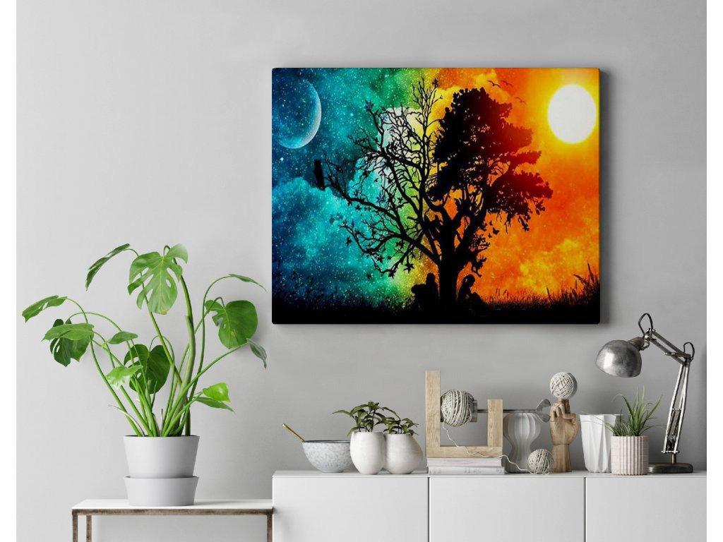 Malování podle čísel - Den a noc