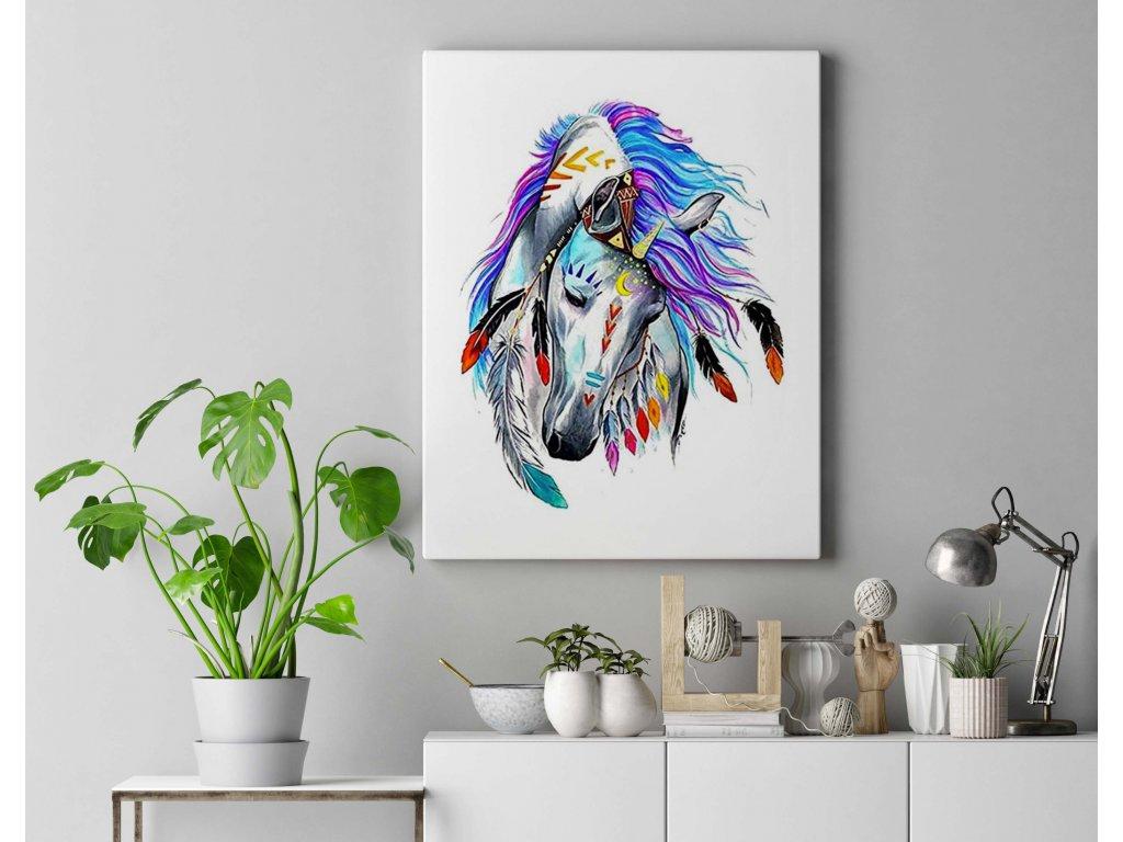 Indiánský kůň KTL2049