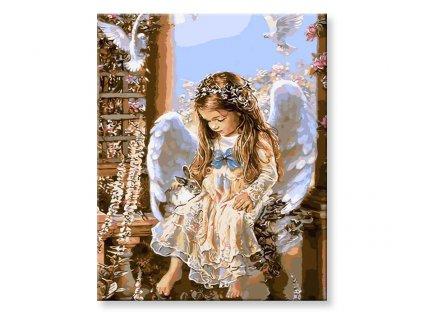 Andílek holčička