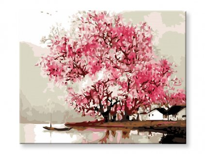 Malování podle čísel - Jarní příroda