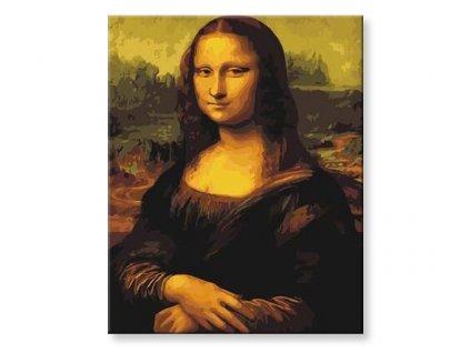 Malování podle čísel - Mona Lisa
