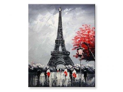 Malování podle čísel - Eiffelova věž II