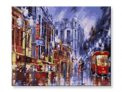 Malování podle čísel - Ulice