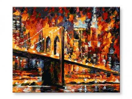 Malování podle čísel - Brooklyn bridge