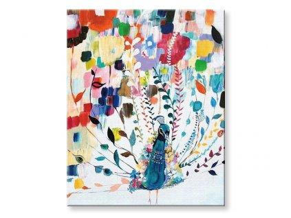 Malování podle čísel - Barevný páv