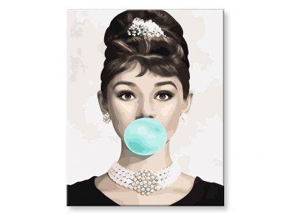 X1897 2 Audrey Hepburnova s bublinou