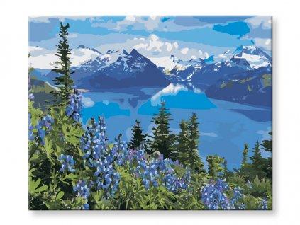 malovani-podle-cisel-alpske-jezero