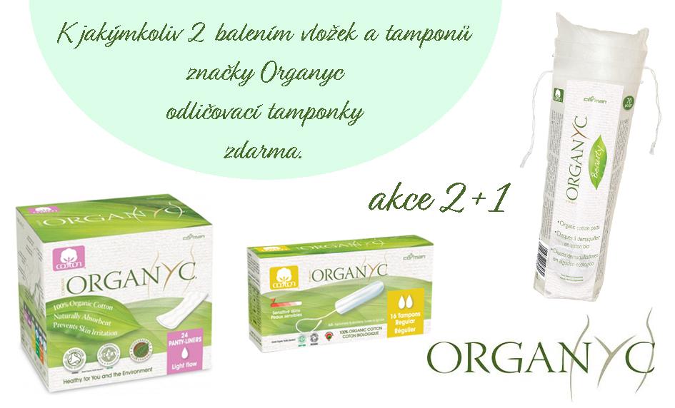 Organyc - akce 2 + 1