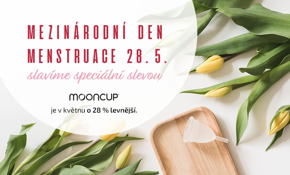 Mooncup a Mezinárodní den menstruace