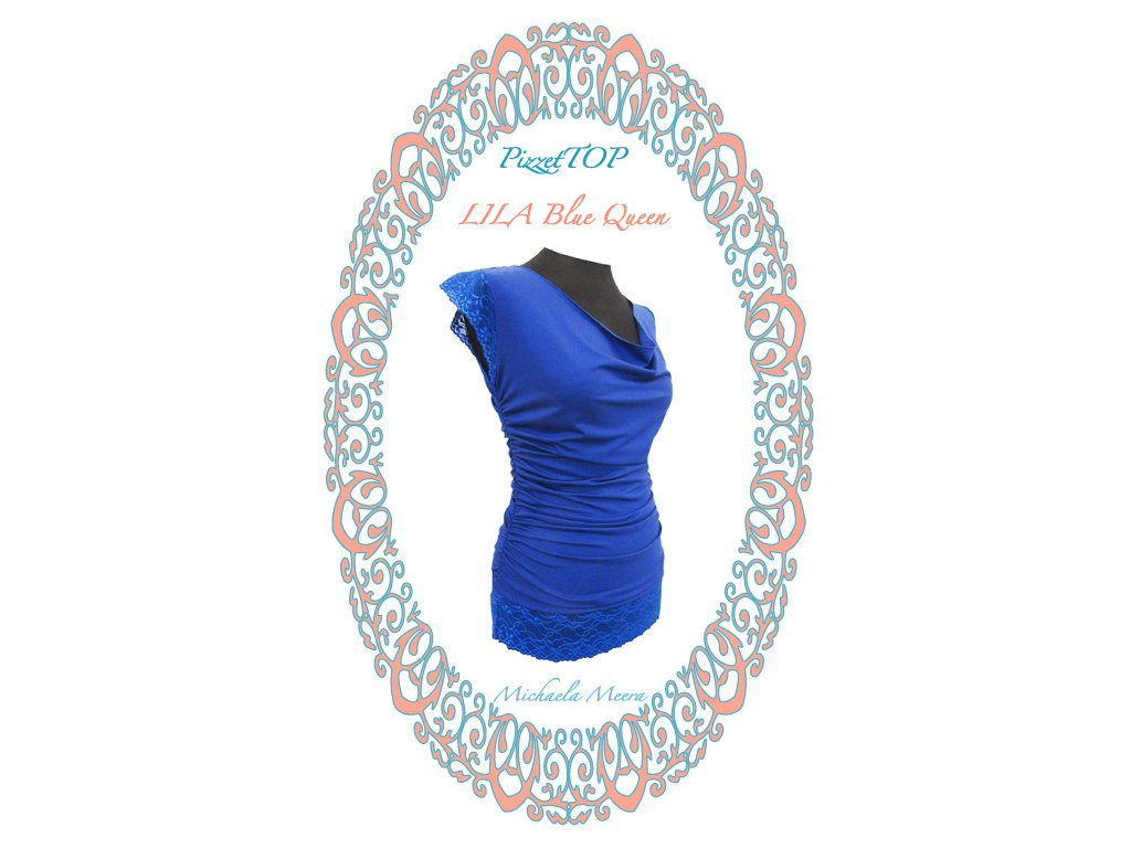 PizetTOP LILA Blue queen