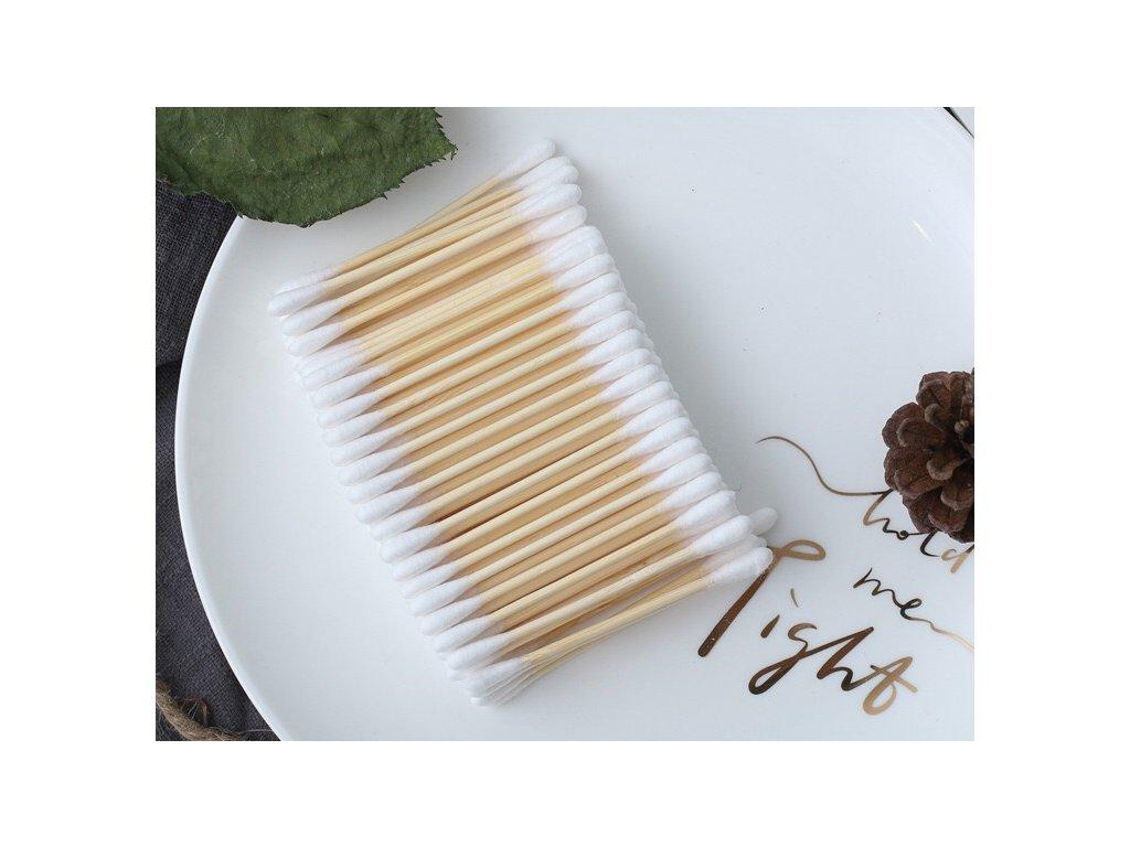 vatove tycinky bambusove