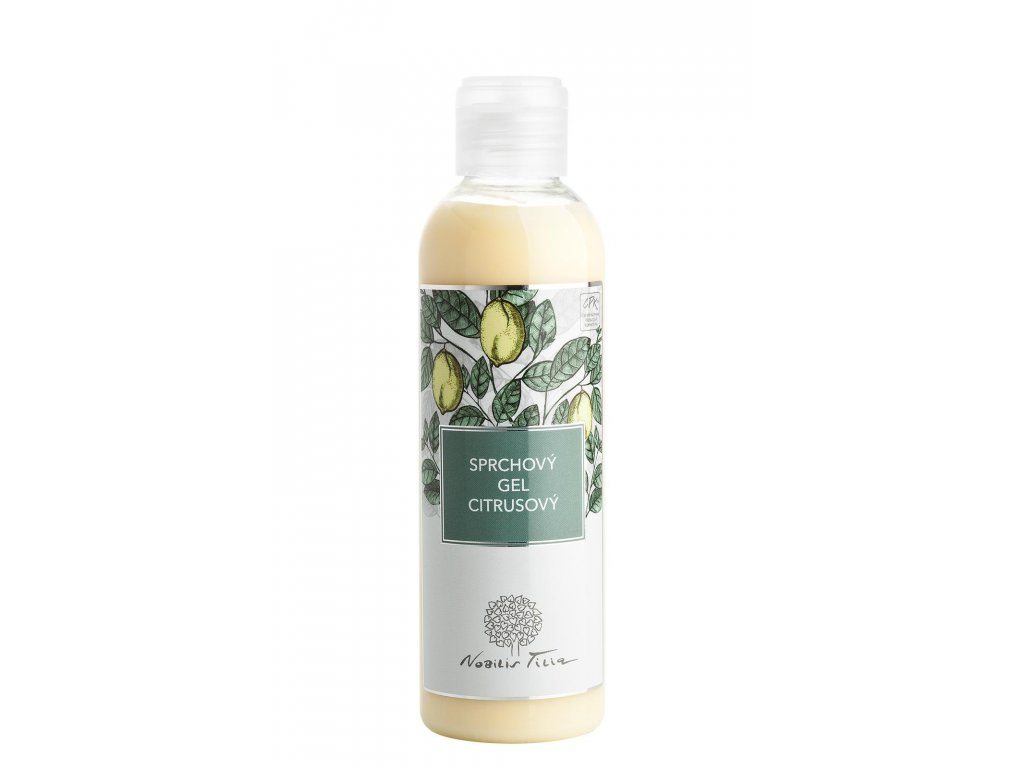 nobilis tilia sprchovy gel citrusovy 200 ml
