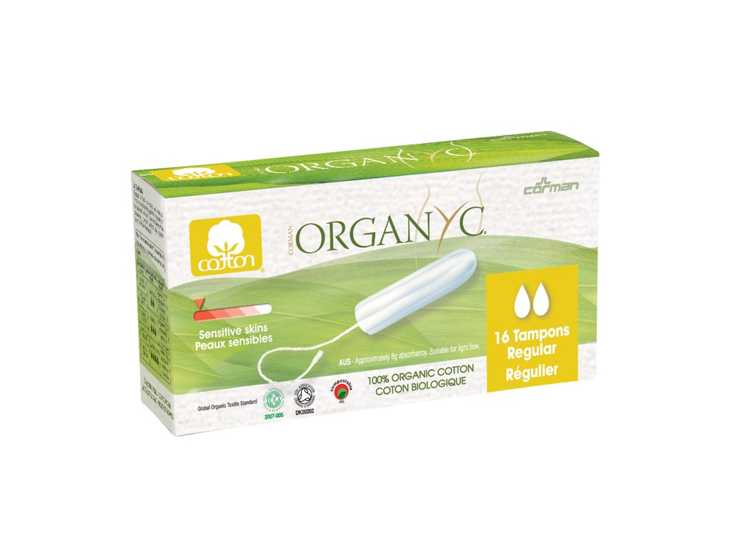 tampony organyc regular