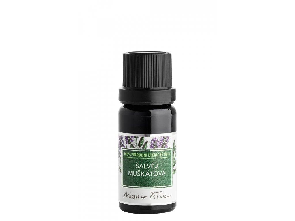 nobilis tilia etericky olej salvej muskatova 10 ml
