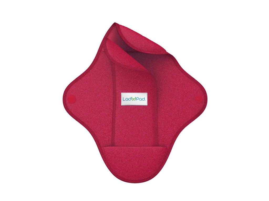 LadyPad BIO látková vložka s vkládací vložkou Fuchsia