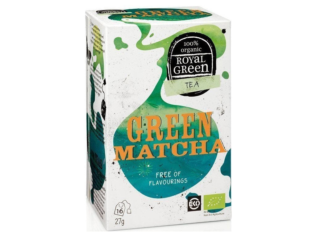 bio zeleny caj green matcha royal green