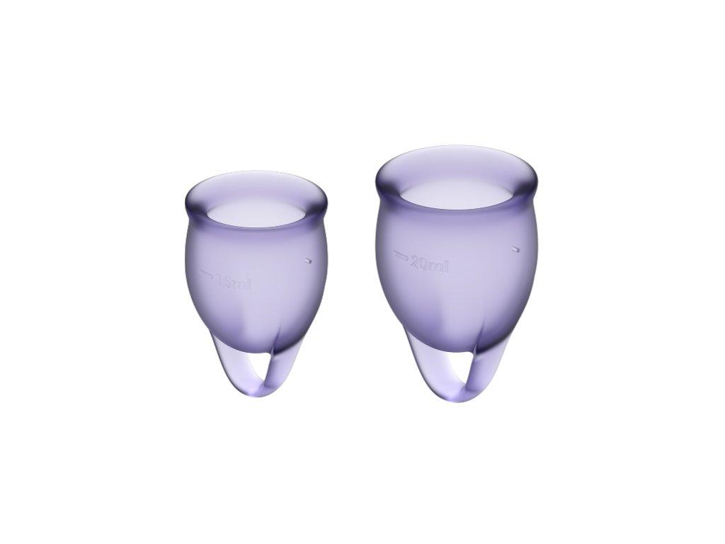 menstruacni kalisek satisfyer FC lila 1